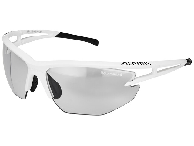 Alpina Eye-5 HR VL+ white matt-black/black